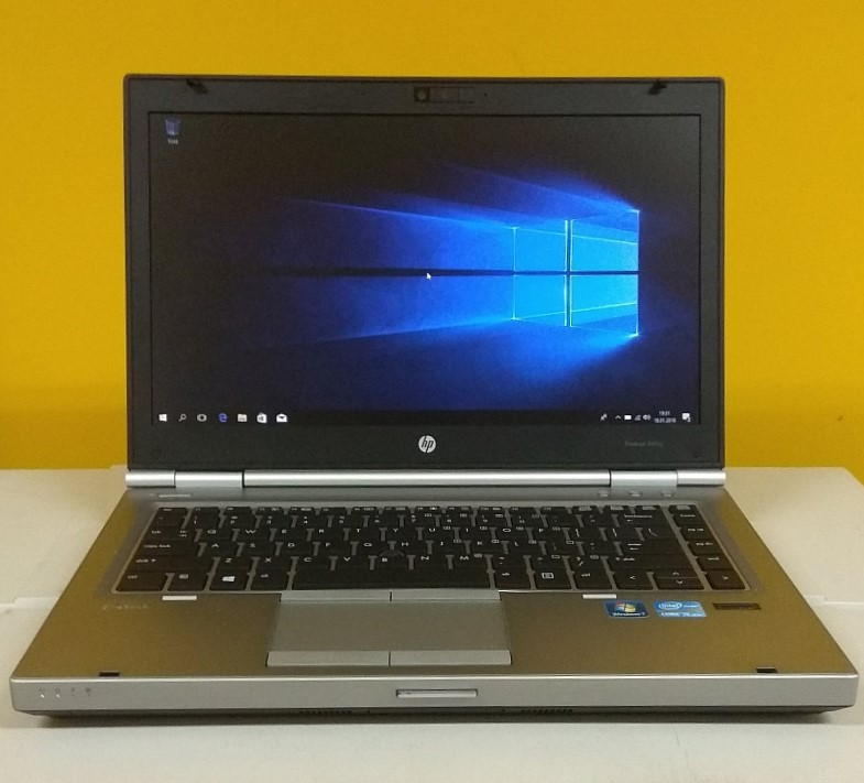 "HP EliteBook 8470p 14"" i5-3320M 8GB SSD120 W10"